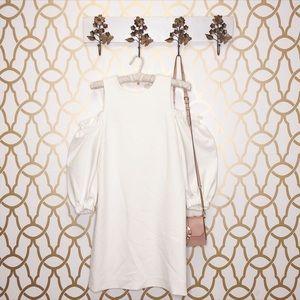 NWT Tibi White Cocktail Dress